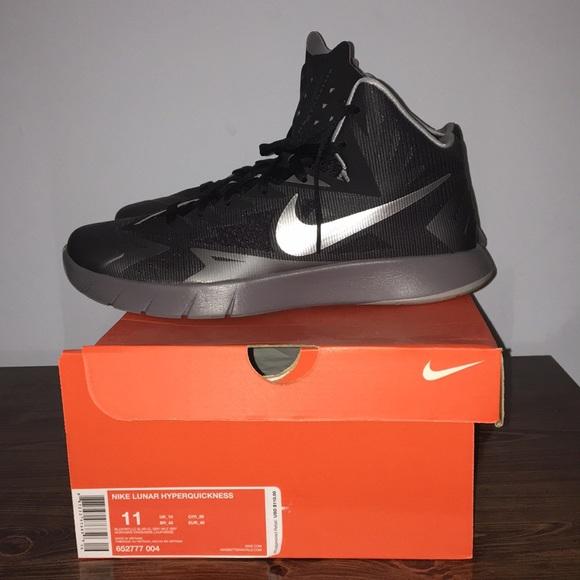 nouveau produit 1747a 23ab3 Men's Nike Black Lunar Hyperquickness Size 11